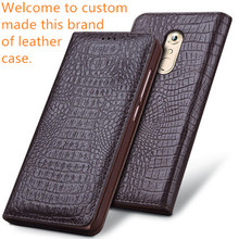 NC02 genuine leather phone cover Asus Zenfone 2 Laser ZE550KL case Laser(5.5') back - XQTC store