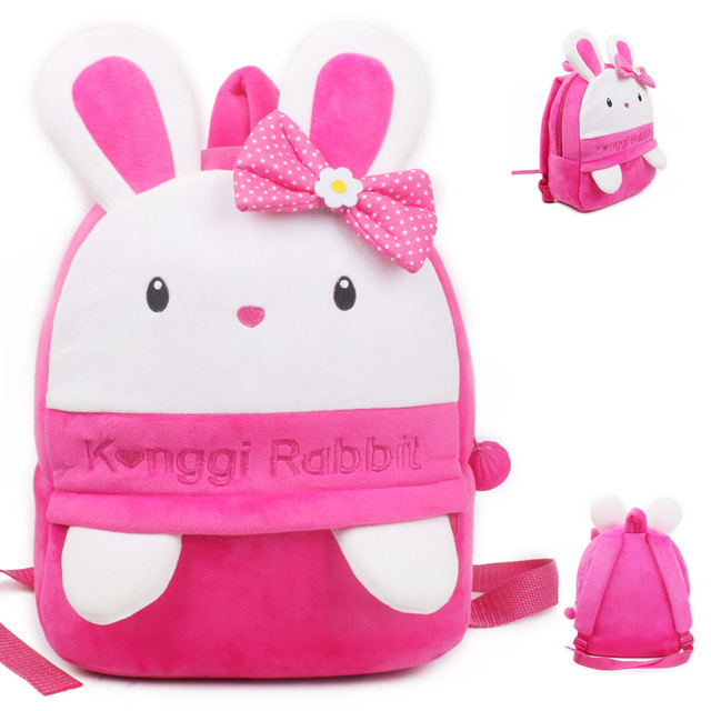 Новое поступление прекрасный Konggi кролик плюша мультфильм рюкзак девушка школы характер мешок подарок для малыша в возрасте 3 - 5 Mochila Infantil горячая распродажа