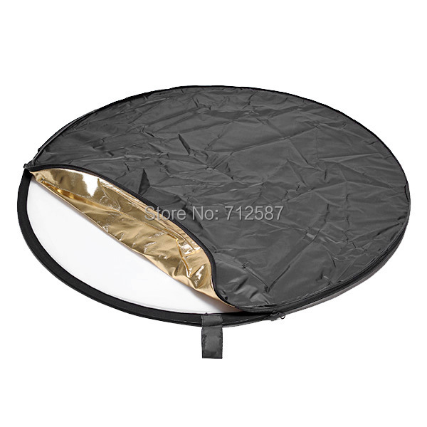 80cm 5 in 1 Light Mulit Collapsible disc Reflector Portable Light Round Photography Photo Reflector for Studio(China (Mainland))