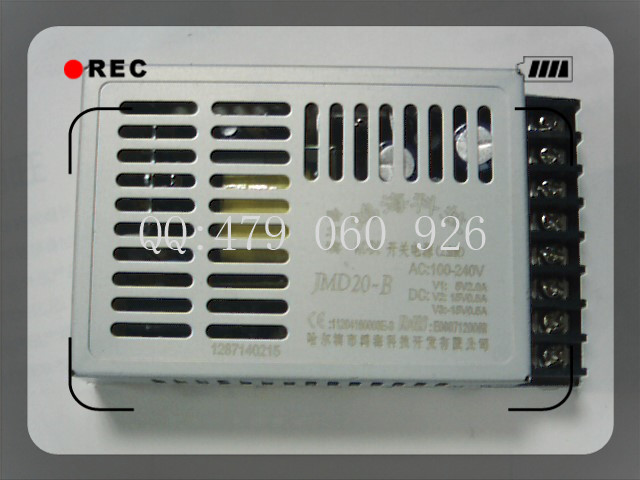[ZOB] - 20W JMD20-B + 15V0.5A 5V2A switching power supply  --5PCS/LOT<br>
