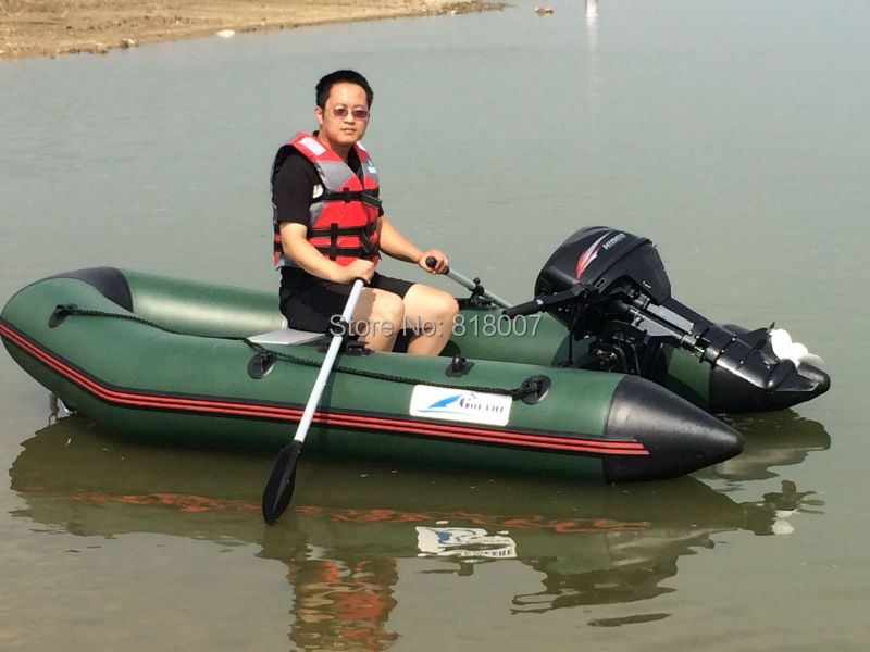 GTS270 Goethe CE certificate and aluminum floor Dingy Inflatable Boat(China (Mainland))