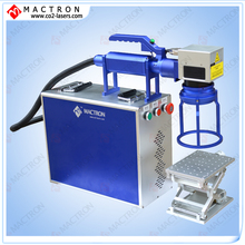 Mopa 20W Fiber Laser Marking Machine For Marking Black On Aluminium Oxide