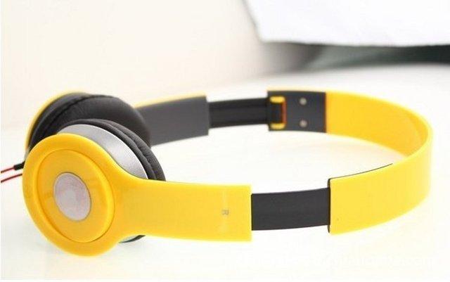 wholesale-Free shipping 2012 mini Studio DJ headphones Hot selling headsets high quality headsets small Studio headphones