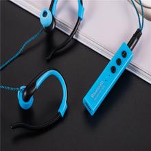 Hillsionly Free shipping ! Hotsale Bluetooth Ear Hook MS-808 Wireless  Earphone Sports Jogging Stereo Waterproof Headset Arrival