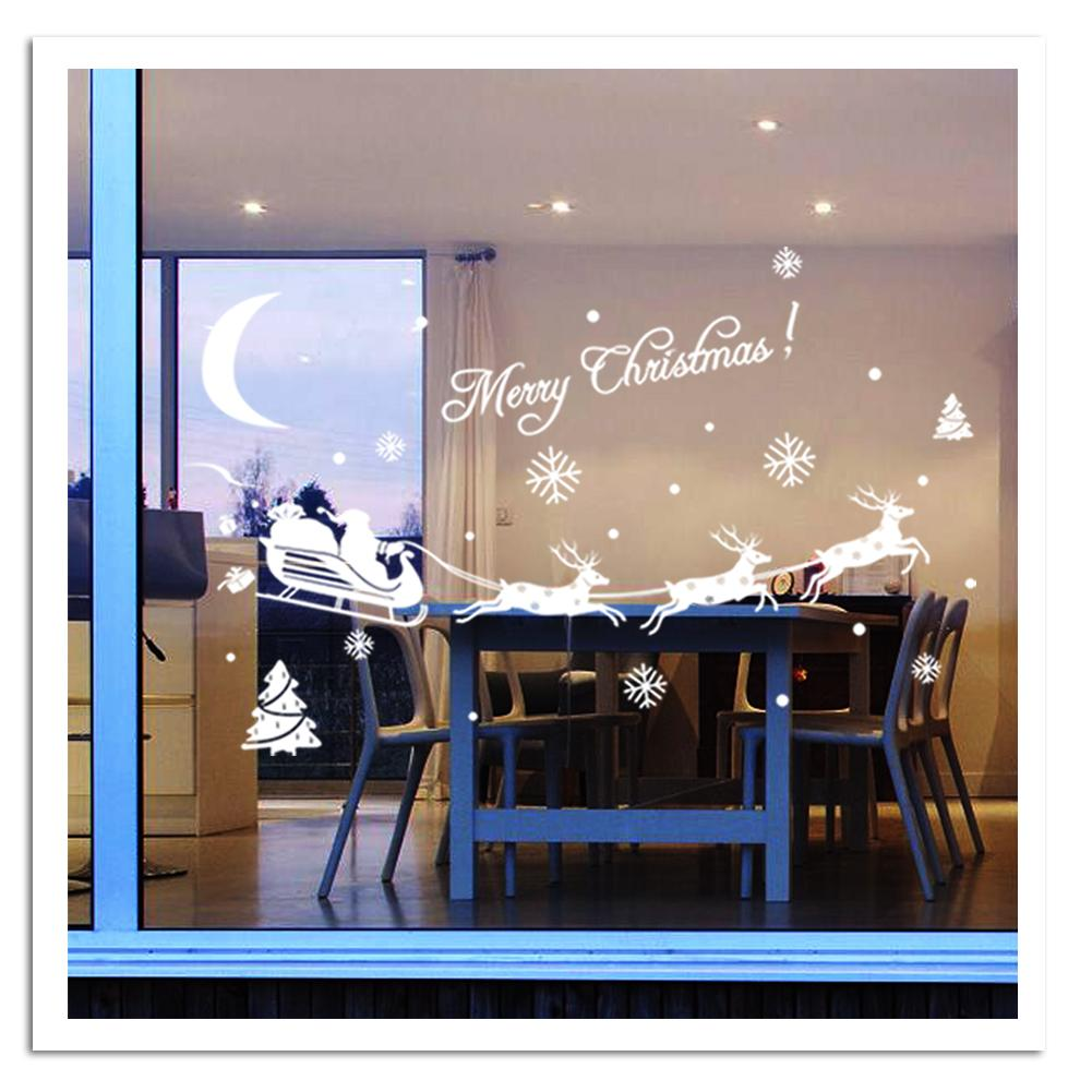 Comhome Decor Factory : 2015 New Merry Christmas wall sticker home decor shop store party ...