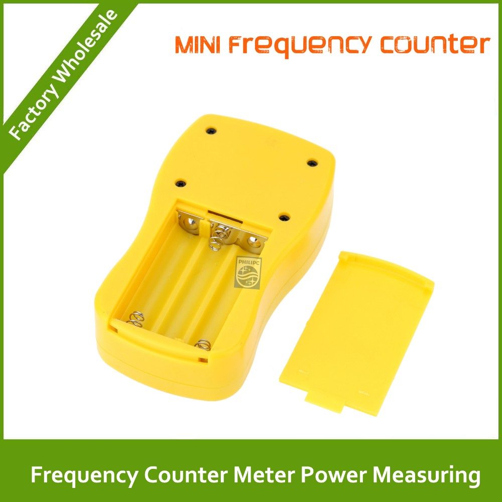 Frequency Measuring Tools : Mini handheld frequency counter meter power measuring for