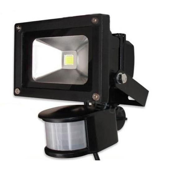AC 85-265V 10W 20W 30W 50W 70W 100W PIR LED Floodlight Outdoor LED Flood light lamp with Motion detective Sensor spot(China (Mainland))