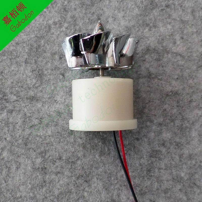(6PCS) White shell Micro wind generators Mini Wind power AC The generator model Science education tool(China (Mainland))