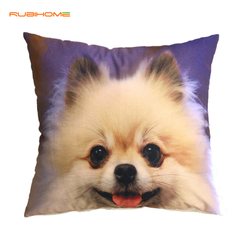 Rubihome New Design Creative Dog Decorative Cushion Cover
