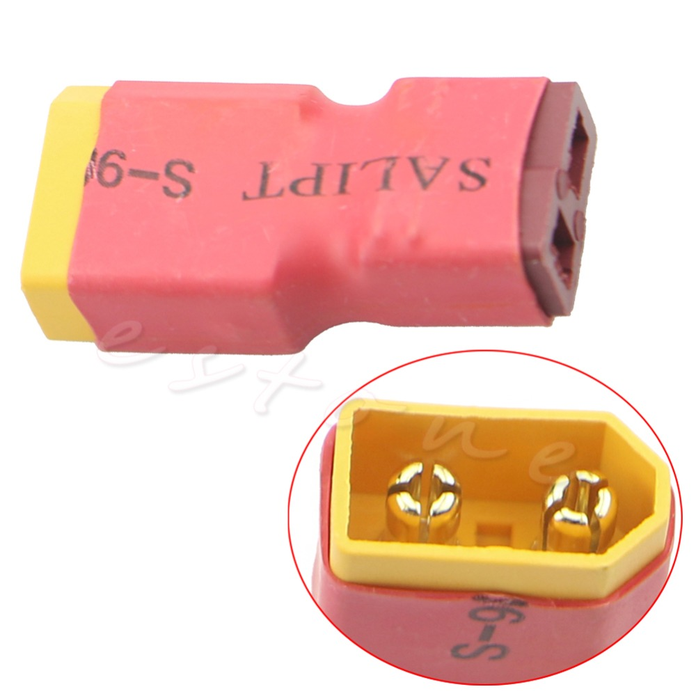 1Pc Wireless XT60 Female Connector/Plug Adapter For Helicopter Lipo Battery New<br><br>Aliexpress