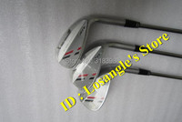 Hot Sale ATV Golf Wedge Set 52 . 56 . 60 Degree With Steel Shaft Golf Wedge Clubs Silver Color