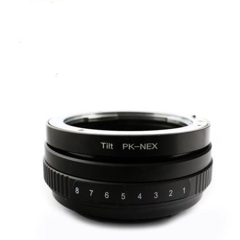 New for  Pentax K PK mount lens to SonyE NEX Tilt Mount Adapter NEX-5 C3 7 VG10E<br><br>Aliexpress