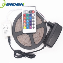 Buy OSIDEN 5M RGB Led Strip 2835 SMD Waterproof IP65 IP20 DC 12V 60Leds / M Fita Flexible Ribbon String Led Tape Lamp Christmas for $11.08 in AliExpress store