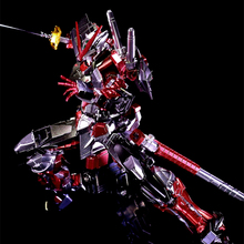 Plating color series BANDAI Star build Red Seed Astray Gundam 1/144 model 13 CM Robot Puzzle assembled boy toys Anime gifts