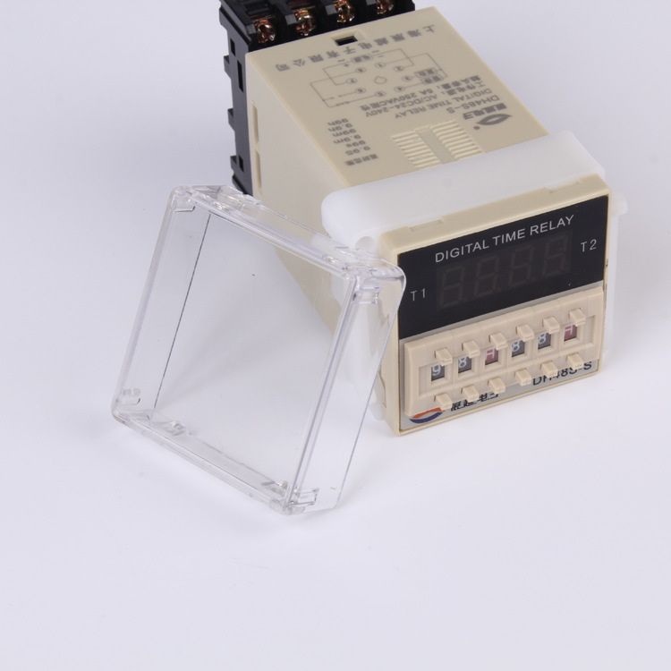 DH48S-S time relay DH48S-S power through time delay cycle time relay small AC24~240V 2 year warranty time relay DH48S-S<br><br>Aliexpress