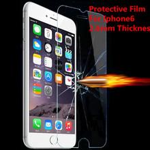 50 шт. оптовая продажа премиум закаленное стекло защитная для iPhone6 0.26 мм 9 H закаленное защитная пленка для iPhone6 / 6 S 4.7 «