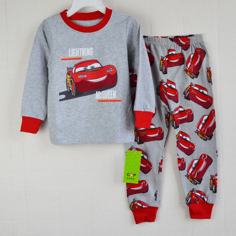 2 шт. комплект мальчик девочка дети пижама костюмы малыша