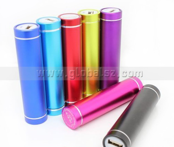 Cheap Fashion Design Oboe 2200mAh Mini Cylinder Portable Power Bank External Battery Rechargeable Backup Charger Powers