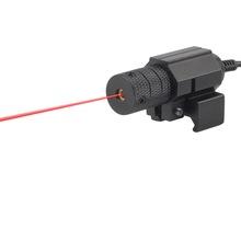 1 Satz Taktische Red dot Mini rote Laser-Augen mit Schwanz Schalter Umfang für Gewehr-Gewehr-Pistole mit verlängern Rattenschwanz Jagd Optik(China (Mainland))