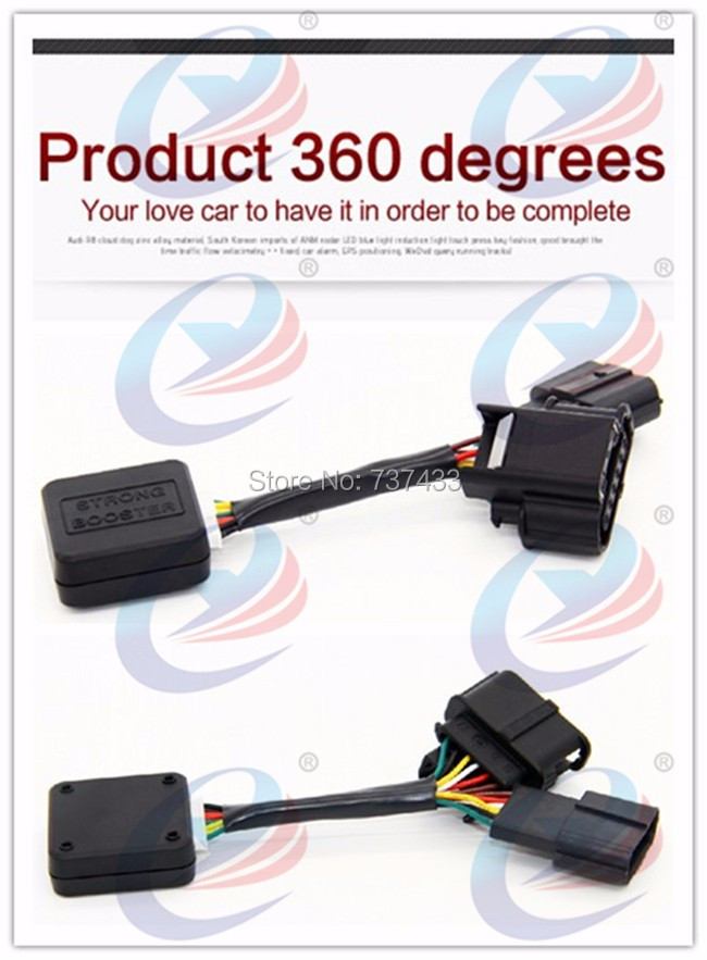 Sport mode Car Strong Booster Drive Electronic Throttle Controller Accelerator Case 30% speed for VW Skoda yeti Octavia Fabia