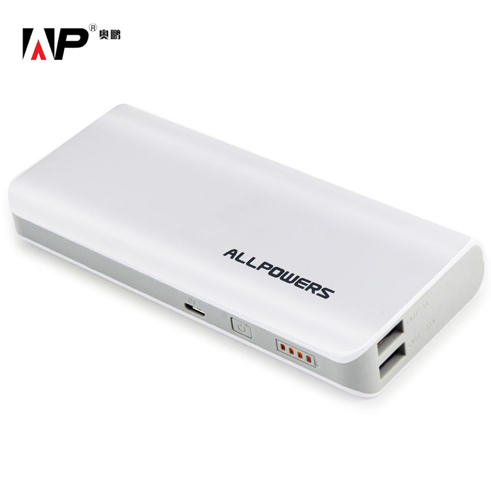 ALLPOWERS 15600mah Phone Charger External Battery Pack for iphone sumsung HTC motorola sony and Most USB Device Free Shipping(China (Mainland))