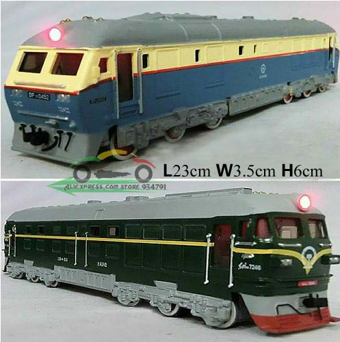 Acousto Optic Retro Version Of DF 7246 Locomotive Diesel Locomotive Kids Toys Boy Car Alloy Car Model Wholesale Free Shipping(China (Mainland))