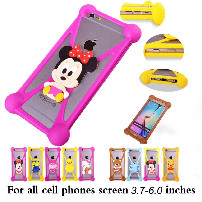 2016 New 3D Cute Cartoon Soft Silicone Phone Case Samsung Galaxy Y GT S5369 S5360 Back Cover Samsung GT S5369 S5360