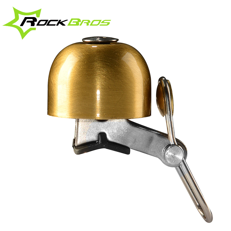 Rockbros Bike Bicycle cycling Handlebar Bell Safety Metal Ring Loud Sound Handlebar Bells Ultra-loud MTB Road Bikes Horns