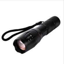 Top Selling Style T6 800LM Aluminum Zoomable led flashlight Torch lamplight for 3*AAA or 1×18650 battery