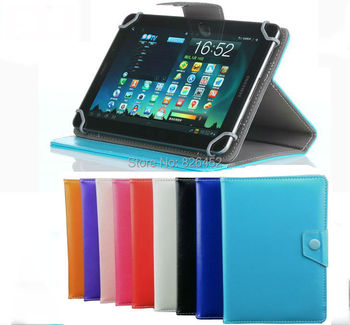 Universal Premium PU Leather Case Stand Cover For 10.1
