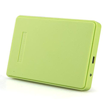 "Hot Sale Green External Enclosure for Hard Drive Disk Usb 2.0 Sata Hdd Portable Case 2.5"" Inch Support 2TB Hard Drive(China (Mainland))"