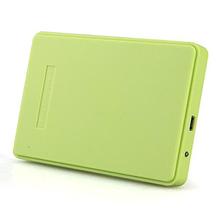 new Green External Hard Drive Enclosure Usb 2.0 Sata 2.5″ Inch Durable Portable Case Hdd Support 2TB Hard Drive