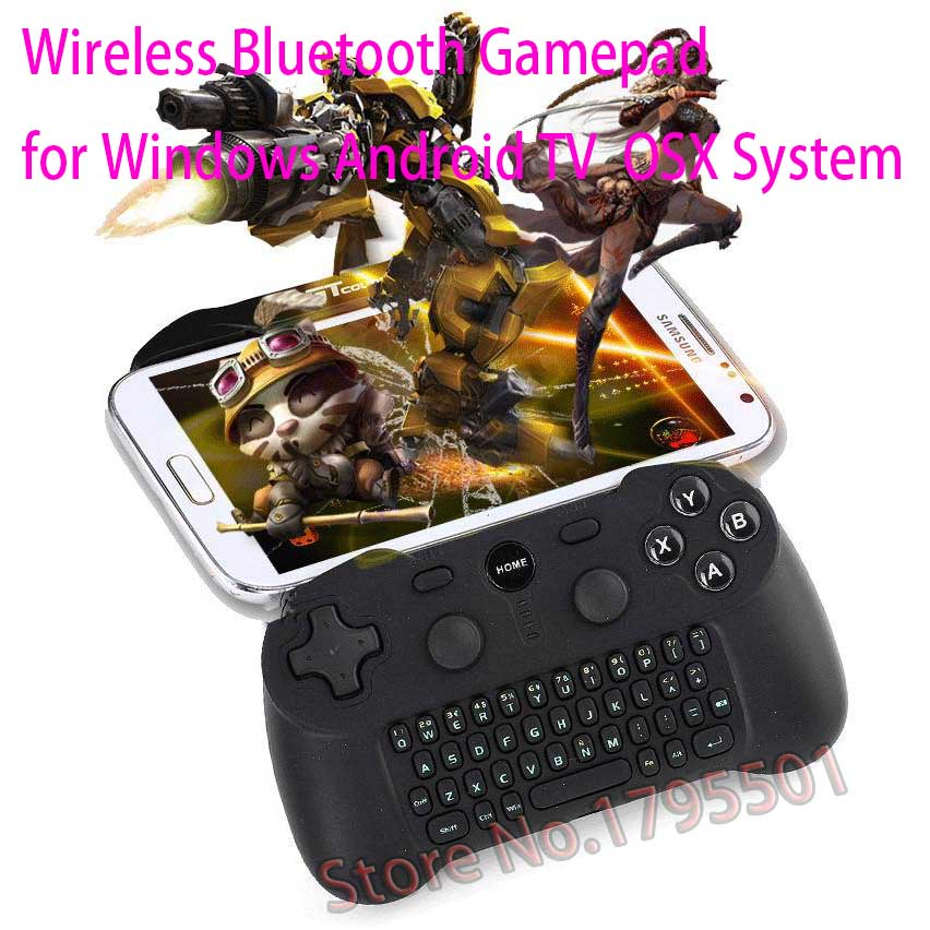 Wireless Bluetooth Gamepad Controller Joystick Keyboard For Android Nokia 3310 Lumia 920 Lumia 720 for K-touch Nubia Gionee ZTE(China (Mainland))