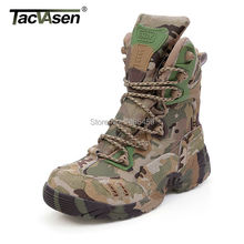 Outdoor Sport Army Men's Tactical Boots CP Camo Male Combat Shoes Military leather Boots Enthusiasts Marine Shoes YWWS-001(China (Mainland))