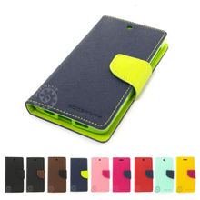 Mercury Fancy Diary Wallet Leather Case Cover For Sony Xperia C S39h C2305(China (Mainland))
