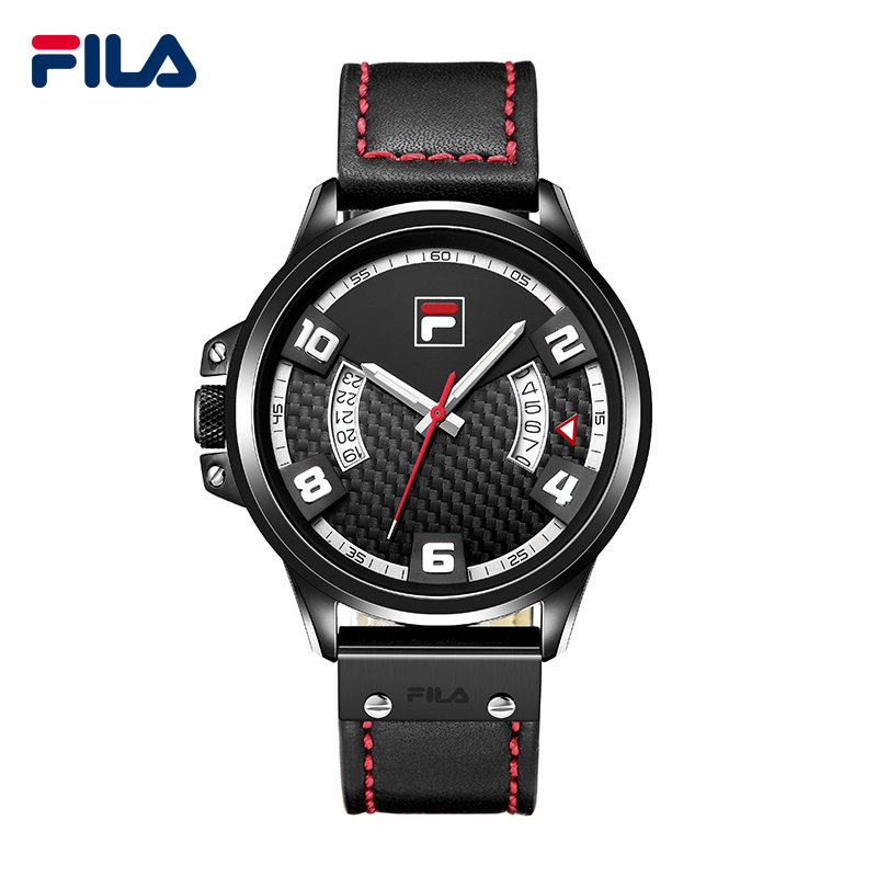 Fila Fashion and Casual Urban Cool Simple Leather Strao Quartz Watch for Men 38-776<br><br>Aliexpress