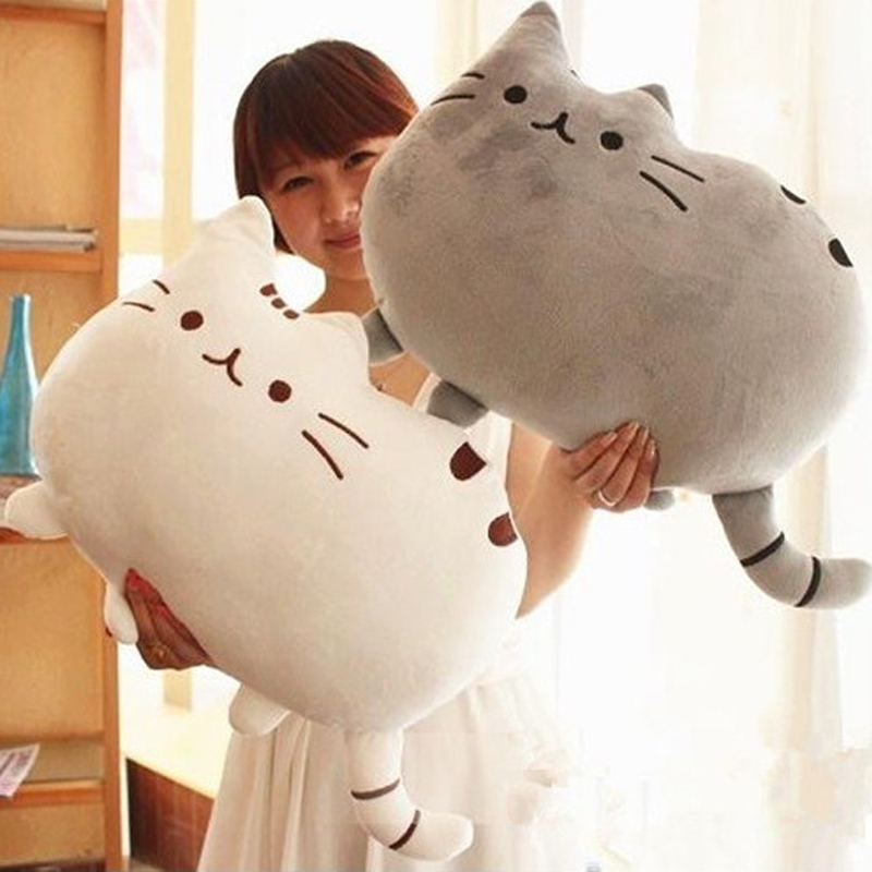 40*30cm 2015 Plush Toys Stuffed Animal Doll Talking Animal toy Pusheen Cat For Girl Kid Kawaii Cute Cushion Brinquedos(China (Mainland))