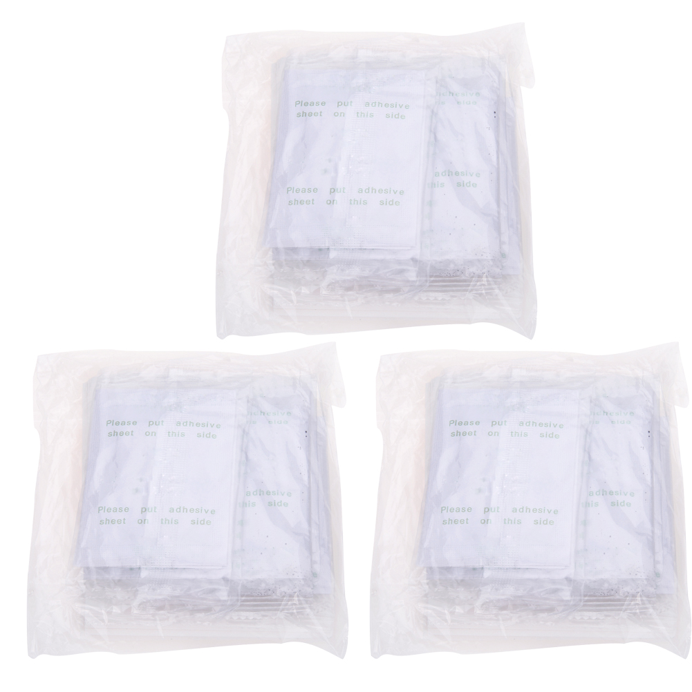 30pcs/pack Detox Foot Patch Adhesive Pads Cleansing Patches Improve Sleep Detoxify Toxin Feet Slimming Beauty Health Care