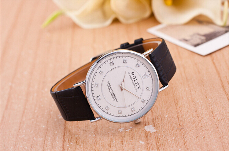 Brand Luxury Style Watches Watch Men leather Strap Military Quartz Wristwatch Clock hombre 40mm