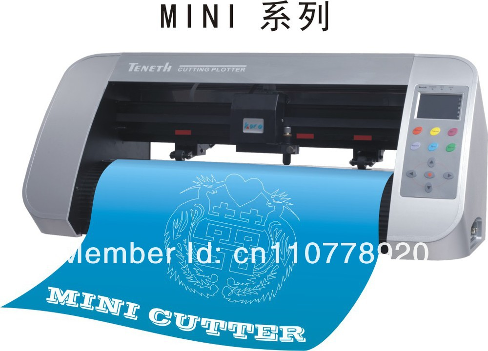 TENETH mini cutting plotter with artcut software free/desktop vinyl cutter TH330(China (Mainland))