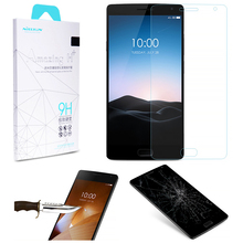 OnePlus 2 Nillkin HD 9H Hardness 2.5D Rounded Edges Anti-Explosion Tempered Glass Screen Film Protective One Plus Two - TOP A store