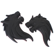 Buy 2016 Wolf Head 3D Metal Auto Ho Car Badge Logo Totem Sticker bmw vw mazda kia benz toyota audi skoda Peugeot free sipping for $9.90 in AliExpress store
