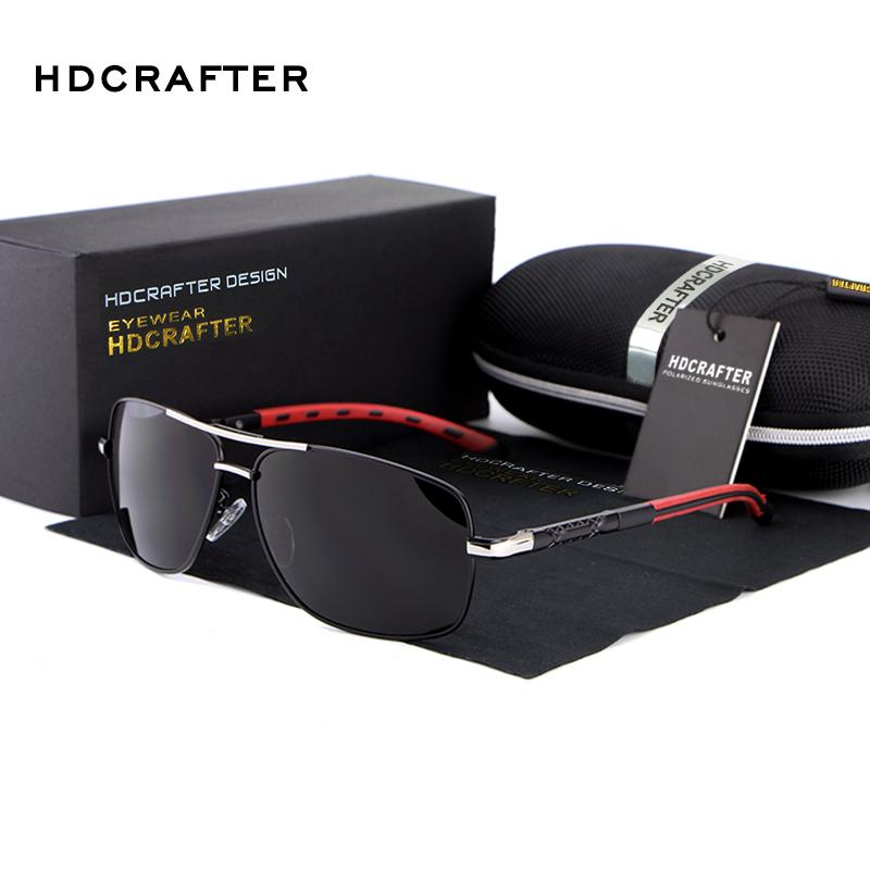 2014 NEW Men High Quality Brand Design Polarized Driving Sports Rectangle Sun Glasses UV400 Fashion Sunglasses Men with Box(China (Mainland))