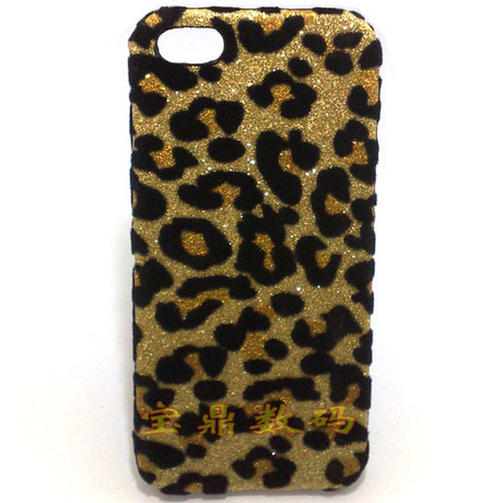 iphone 5c mobile phone case apple shell leopard pattern protective cover +free screen protector - Shenzhen Jingles Sci-Tech Co., Ltd. store