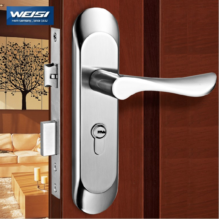 buy 2 pieces door lock interior door locks european style bedroom solid wood. Black Bedroom Furniture Sets. Home Design Ideas
