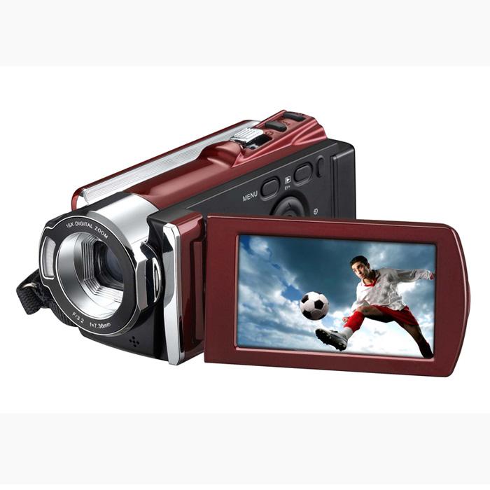 Free self-time 30FPS 720P max 12MP Digital Camera Recorder Camcorder DV DVR 3.0'' LCD 16x Zoom Digital Video Cameras