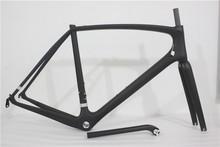 2016 wholes UD weave carbon road frame super light carbon bike frame carbon bike BB30 or BSA PF30 mechanical di2 Trident thrust(China (Mainland))