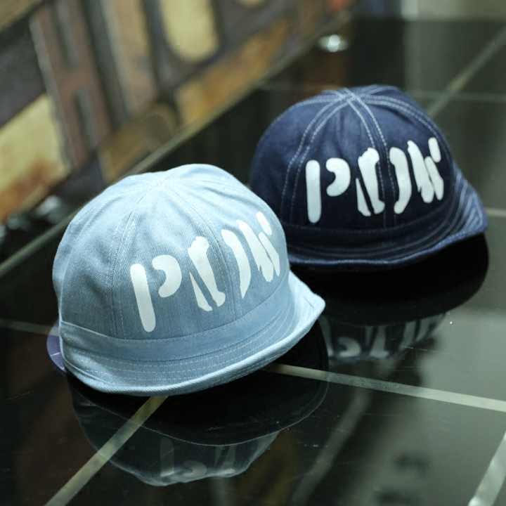 Vintage Blue Denim Caps For Women Men Casual Letter Jeans Hats Retro Casquette Gorras(China (Mainland))
