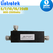 800-2500mhz 2 way Coupler 5dB 7dB 10dB 15dB 20dB  Coupler For Mobile Phone Signal Booster Repeater