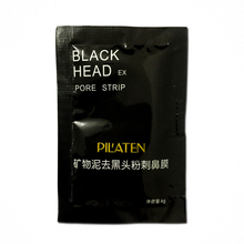 10pcs/lot Face Care PILATEN Nose Facial Blackhead Remover Mask Minerals Pore Cleanser Black Head EX Pore Strip(China (Mainland))